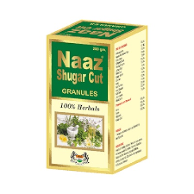 NAAZ SUGAR CUT GRANULES 200GM