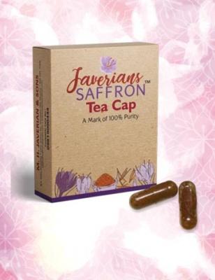 Javerians Saffron Tea Cap - 20 Caps